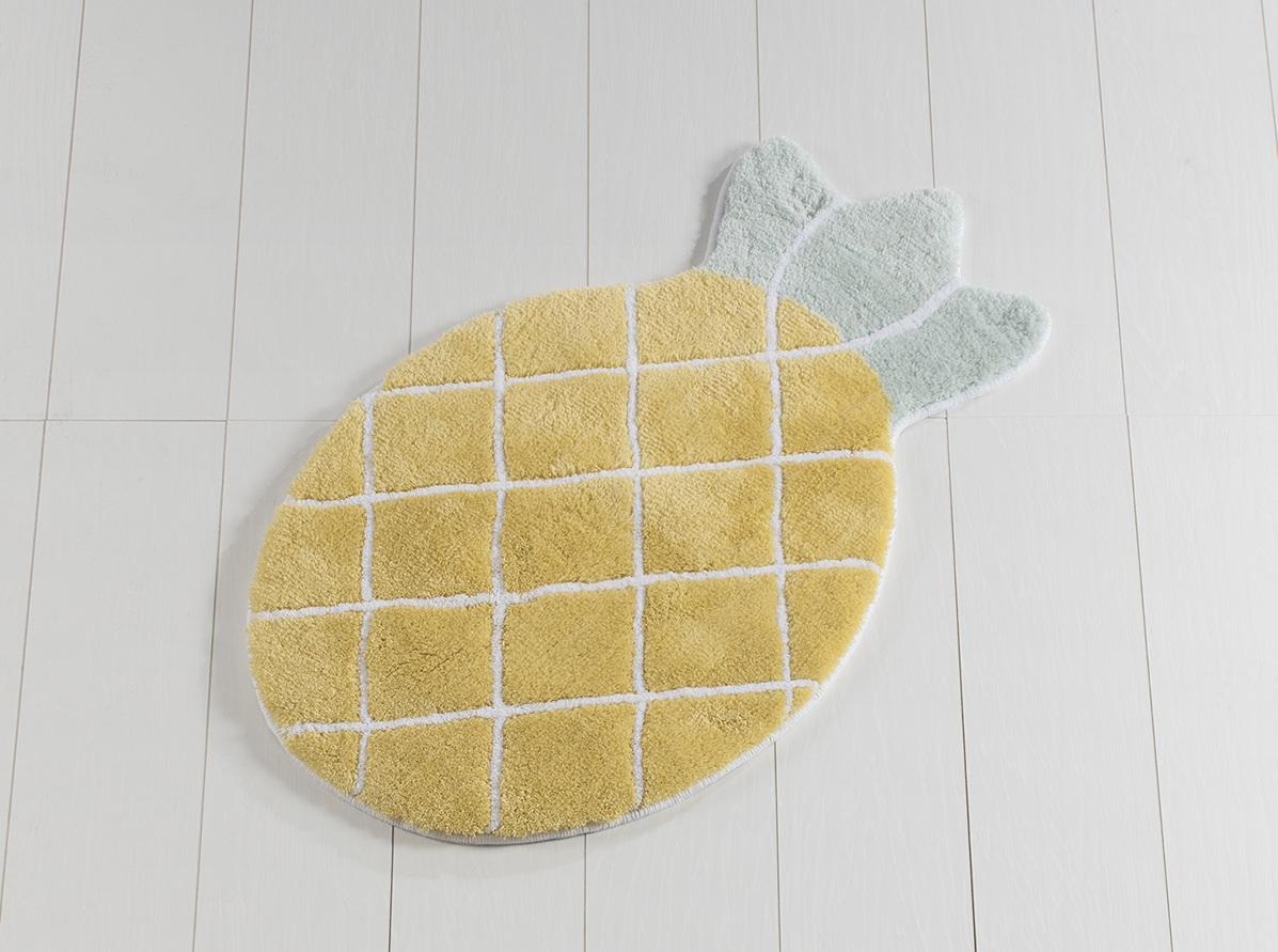 Коврик для ванной Chilai Home Pineapple Yellow 60х100
