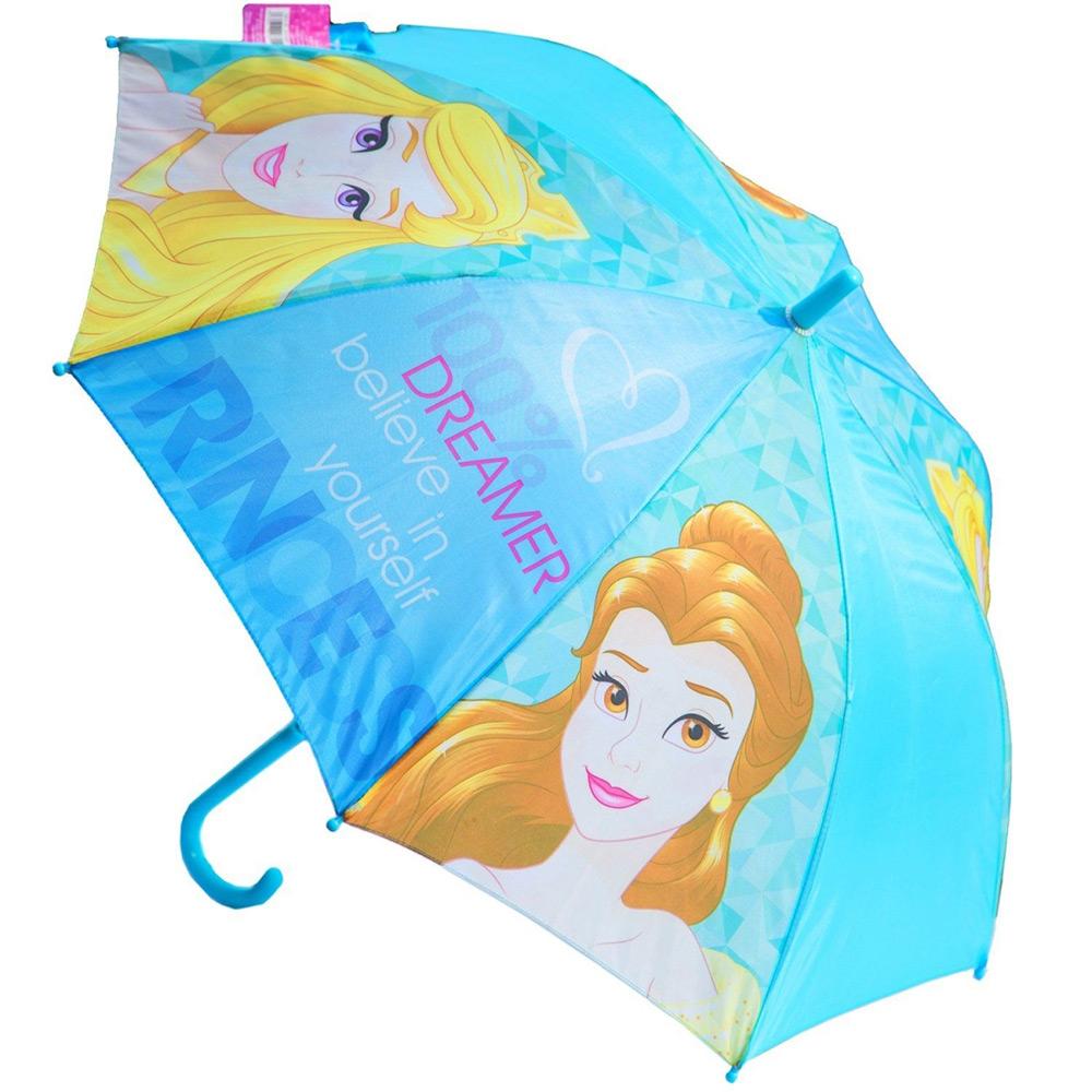 Зонт полуавтомат Принцессы Disney (Arditex) голубой WD9811 blue
