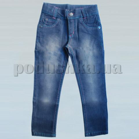 Штаны детские для девочки Бемби ШР191 джинс