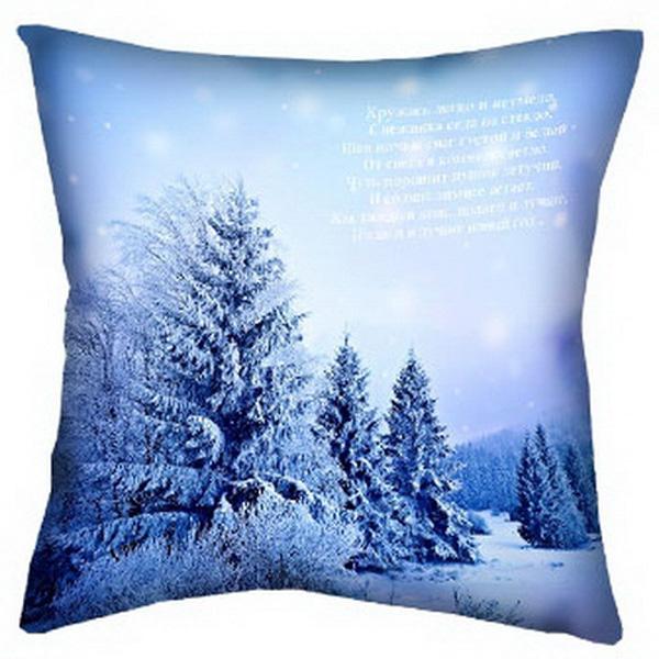 Подушка Зима