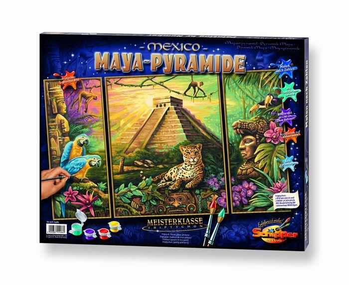 Художественный творческий набор Пирамиды Майа 3 в 1
