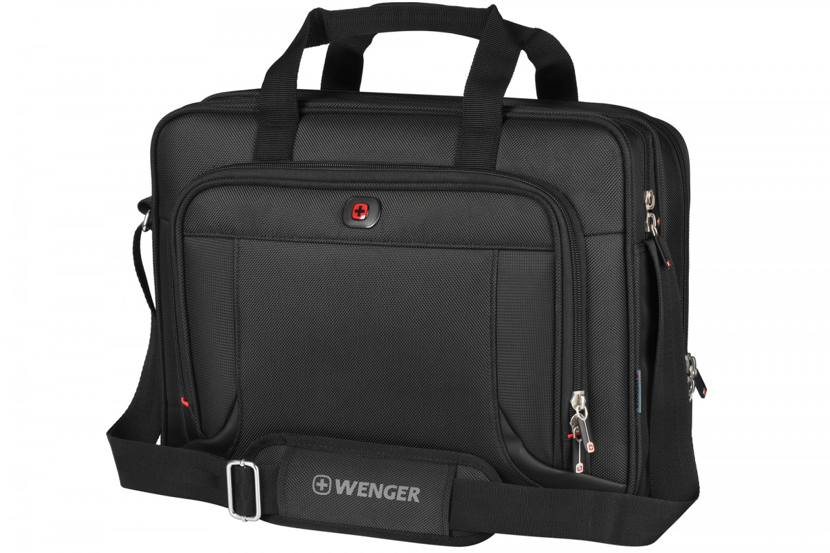 Сумка для ноутбука Wenger Prospectus 16 чёрная 600649