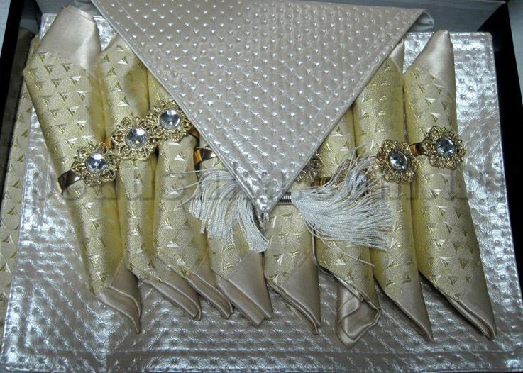 Подарочный набор Leidy (скатерть, дорожка, салфетки)