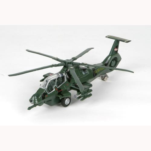 Модель - Вертолет Военный (свет, звук)