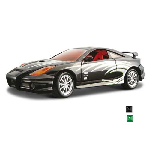 Автомодель - Toyota Celica GT-S (ассорти зеленый, черный, 1:24)