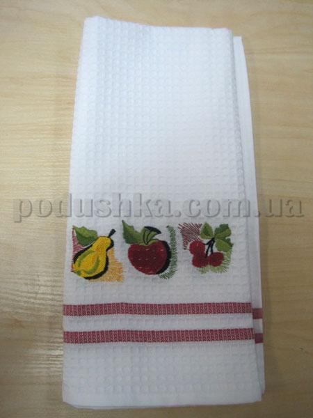 Полотенце кухонное вафельное Remzi Груша, яблоко
