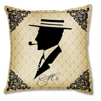 Подушка «Мистер»