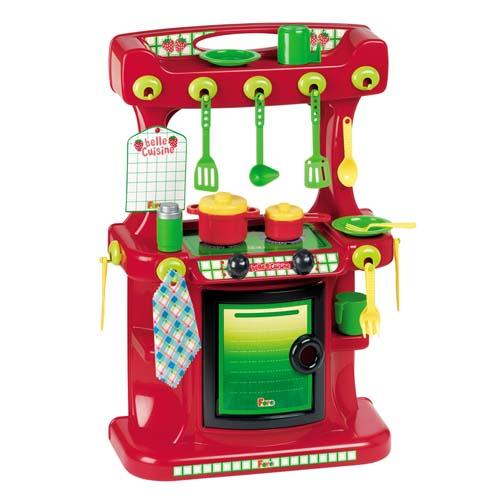 Игровой набор - Кухня - Маленькая клубничка (20 аксессуаров, с запахом клубники, 60 см)