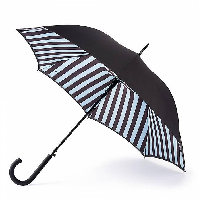 Женский зонт-трость Fulton Bloomsbury-2 L754 Block Stripe полосы