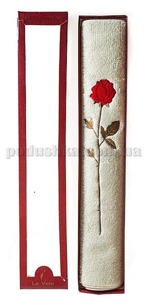 Полотенце махровое Le Vele Розочка 50х100 см цвет - голубой (грязно) Le Vele