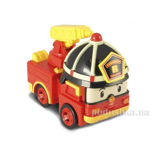 Пожарная машина-робот Рой с подсветкой Robocar Poli 83093   Robocar Poli