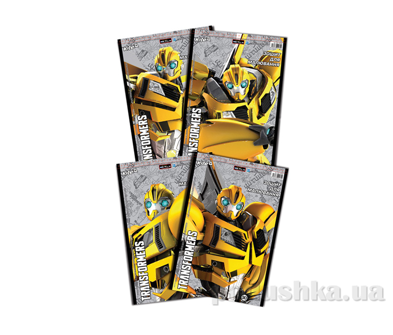 Альбом для раскрашивания Kite Transformers TF14-243K