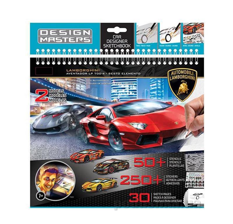 Альбом для творчества Lamborghini Aventador LP 700-4 & Sesto Elemento AKT-07002