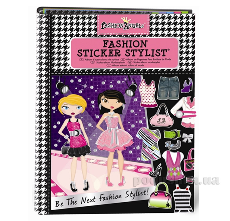 Альбом с наклейками Fashion Angels Классика 11663