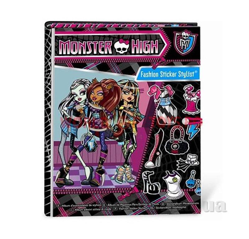 Альбом с наклейками Школа Монстров Fashion Angels 64024