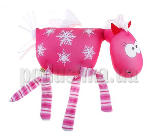 Антистрессовая игрушка Лошадка Снежная