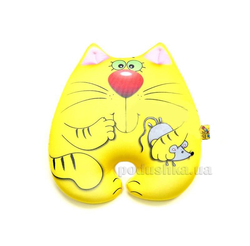 Антистрессовая игрушка Штучки Кот Мышкин желтый