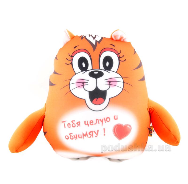 Антистрессовая игрушка Штучки Трогательный котик рыжий