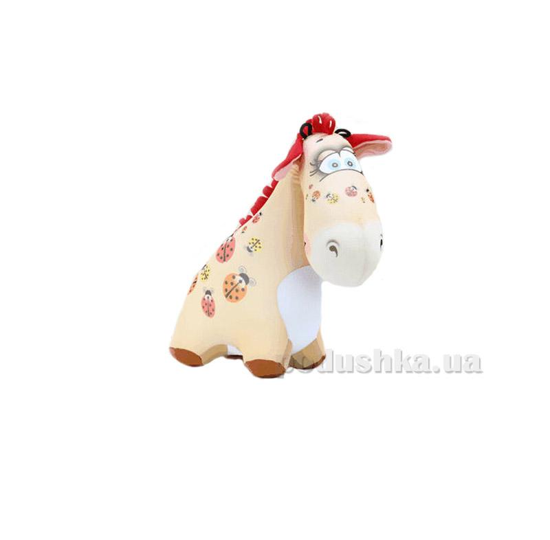 Антистрессовая игрушка Штучки Жираф Жужа бежевый