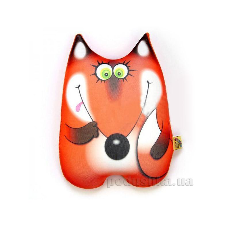 Антистрессовая игрушка-подушка Штучки Лисичка Алёнушка