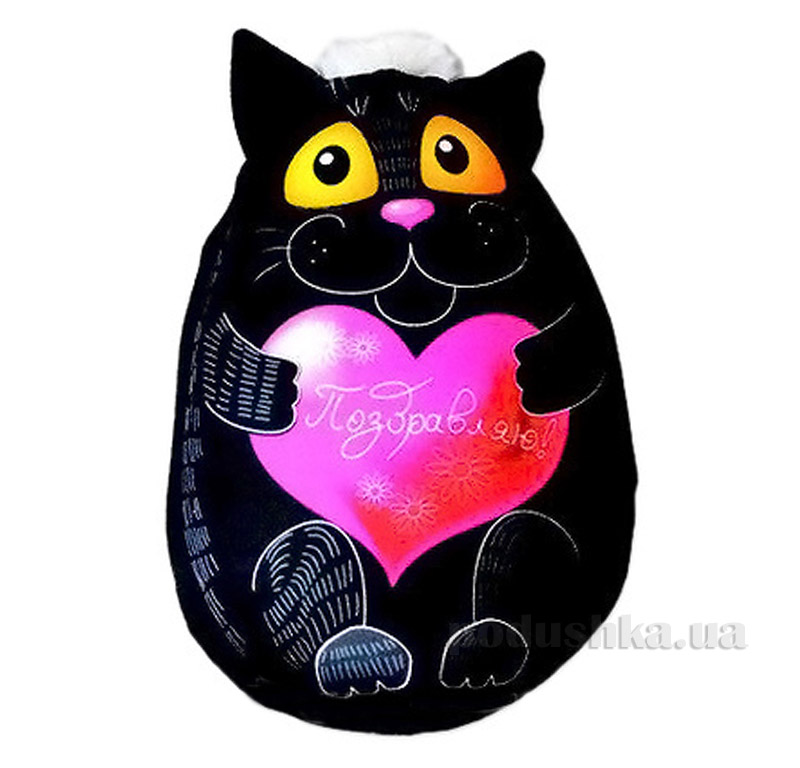 Антистрессовая подушка Капа Кошка