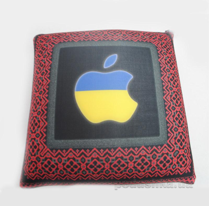 Антистрессовая подушка Штучки Орнамент-яблоко 13асп07укр-красный   Штучки