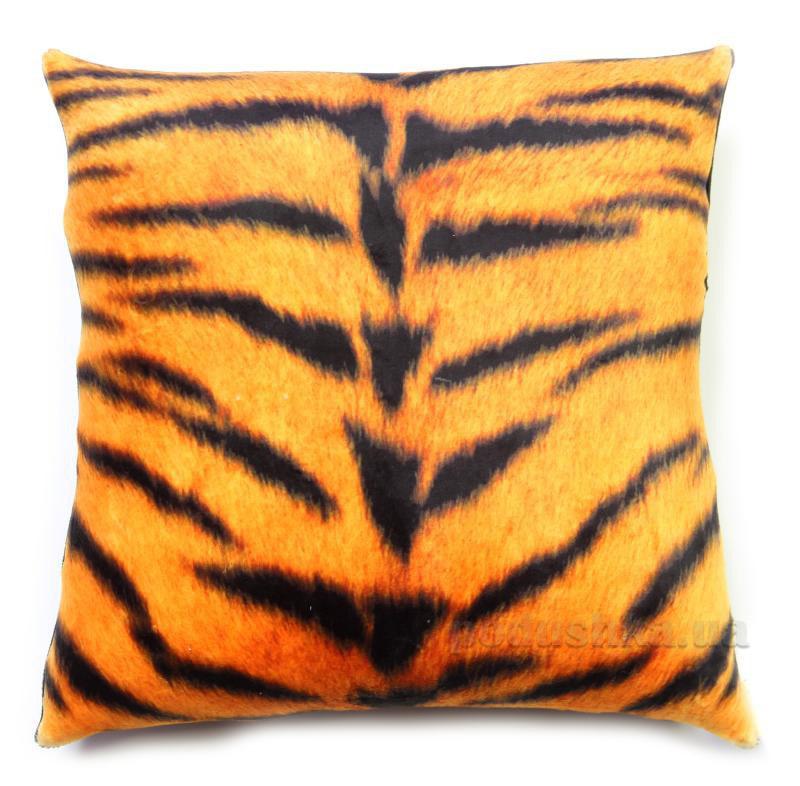 Антистрессовая подушка Штучки принт тигр