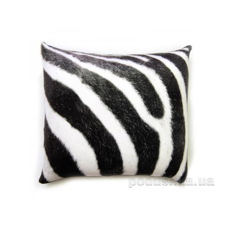 Антистрессовая подушка Штучки принт зебра