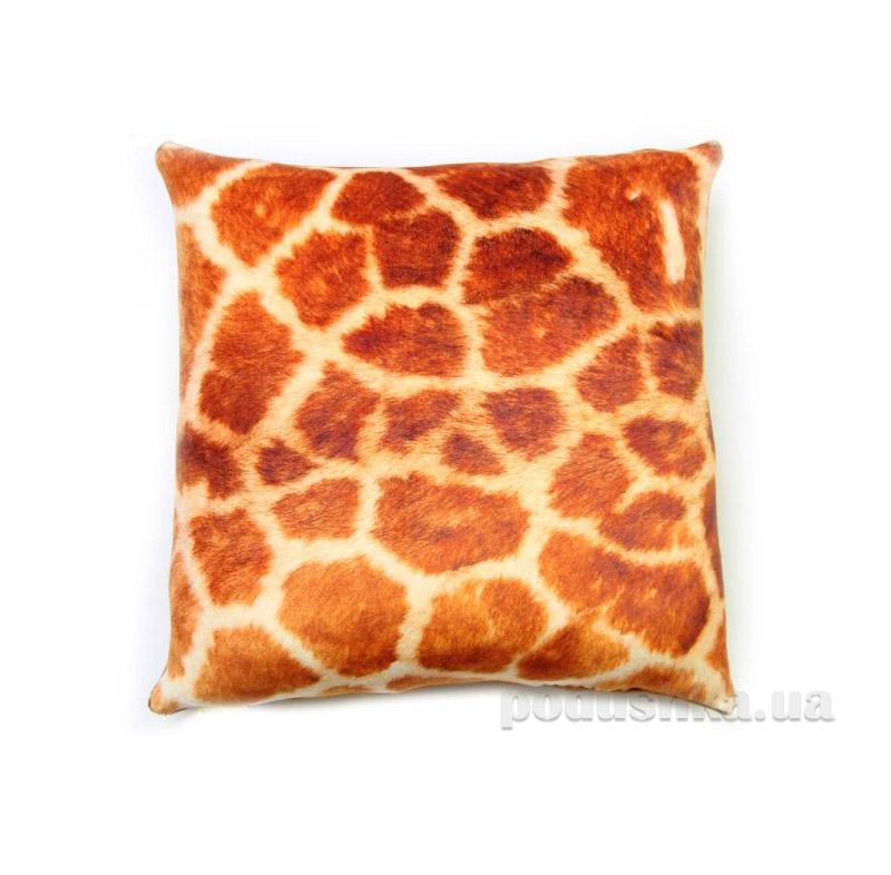 Антистрессовая подушка Штучки принт жираф