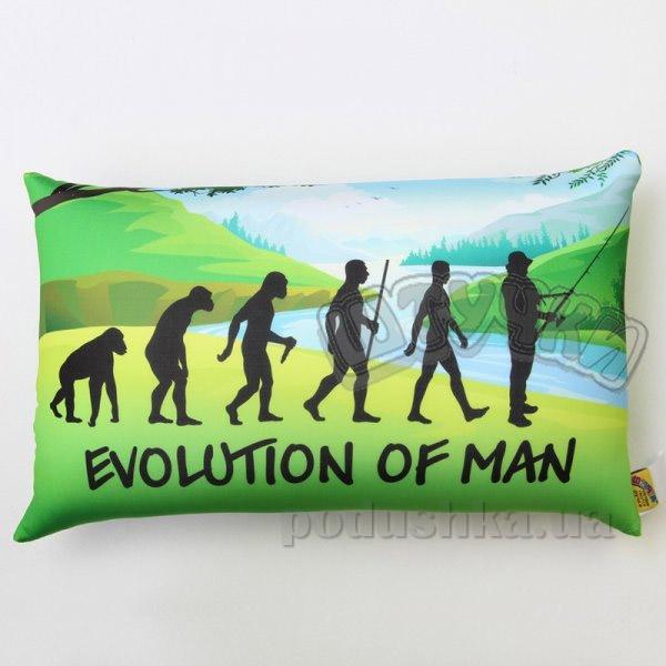 Антистрессовая подушка Штучки Рыбалка Evolution of man