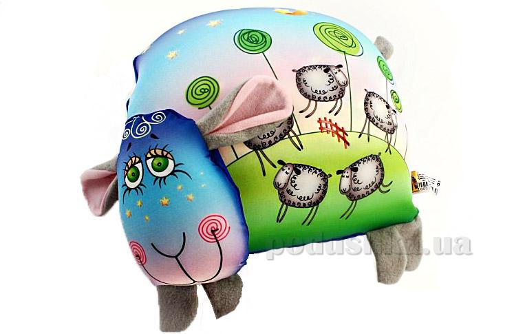 Антистрессовая подушка-игрушка Овечка-приятных снов Штучки 15аси03ив