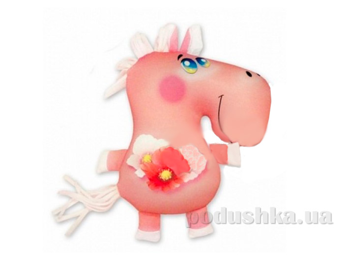 Антистрессовая подушка-игрушка Веселая Лошадь Штучки 14аси03ив