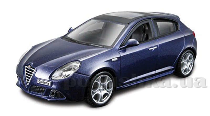 Авто-конструктор - Alfa Romeo Giulietta (синий металлик, 1:32)
