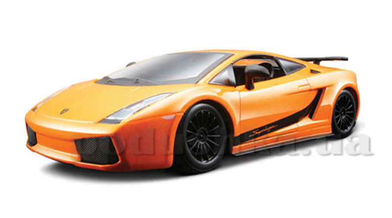 Авто-конструктор - Lamborghini Gallardo Superlegerra 2007, оранжевый металлик
