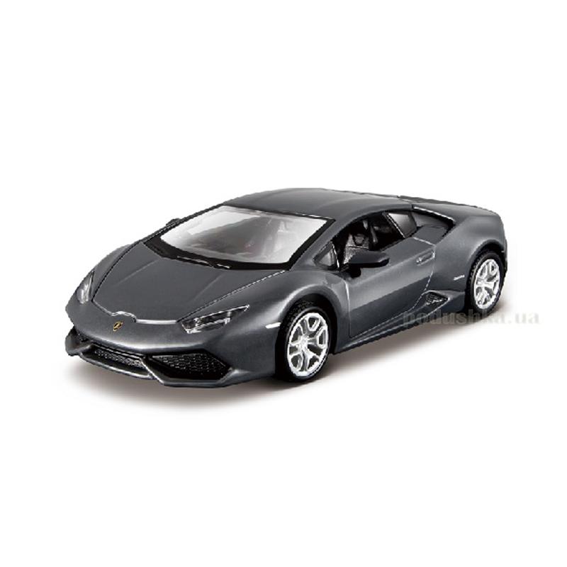 Авто-конструктор - Lamborghini Huracan LP 610-4 Bburago 18-45137 (серый металлик, 1:32)