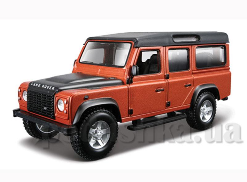 Авто-конструктор - Land Rover Defender 110 (коричневый металлик, 1:32)