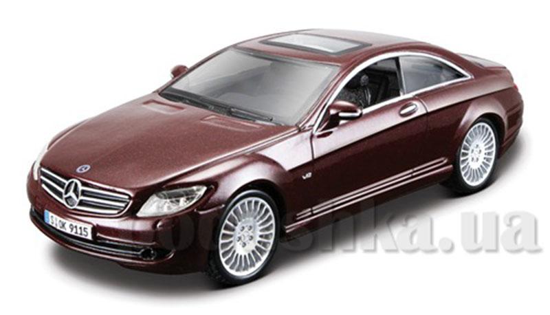Авто-конструктор - Mercedes Benz CL550 (красный металлик, 1:32)