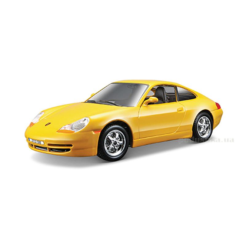 Авто-конструктор Porsche 911 Carrera Bburago 18-25111 желтый