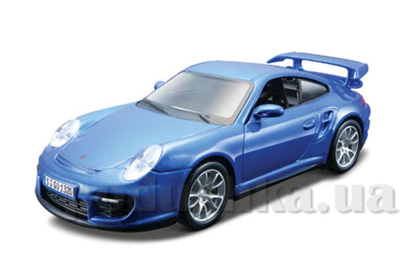 Авто-конструктор - Porsche 911 GT2, голубой