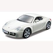 Авто-конструктор - Porsche Cayman S (белый, 1:32)