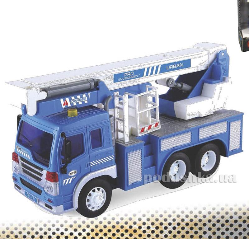 Автокран Junior Trucker 28 см со светом и звуком Dave Toy 33019
