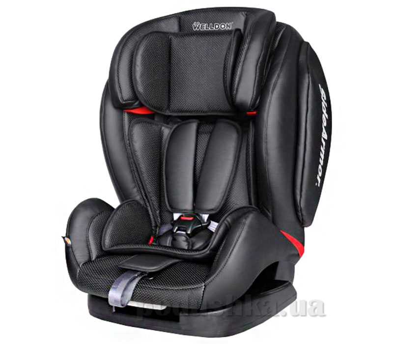 Автокресло Baby Shield Encore Black кожа