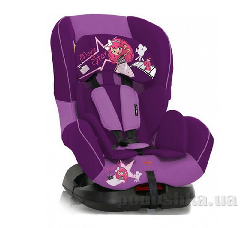 Автокресло Bertoni Concord Pink Movie Star