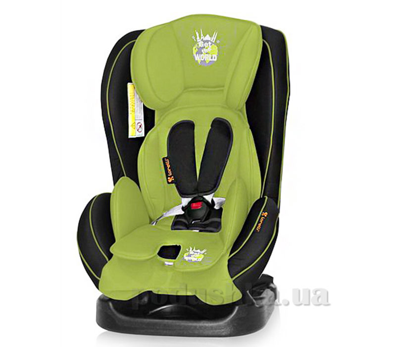 Автокресло Bertoni Mondeo Black-Green Get The World