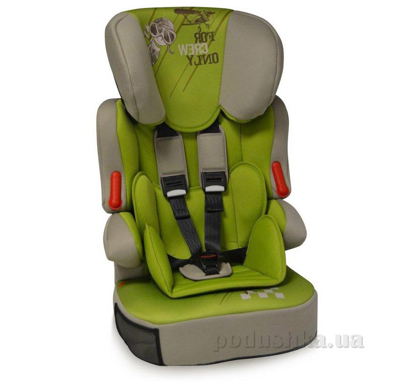 Автокресло Bertoni X-Drive Plus Caramel-Green Pilot
