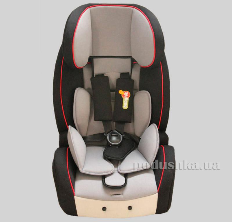 Автокресло Black grey BabyHit Gallant(Isofix) 9895