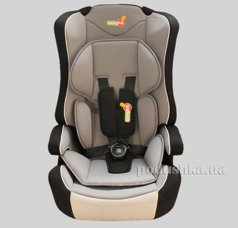 Автокресло Black grey BabyHit Log's seat 9882