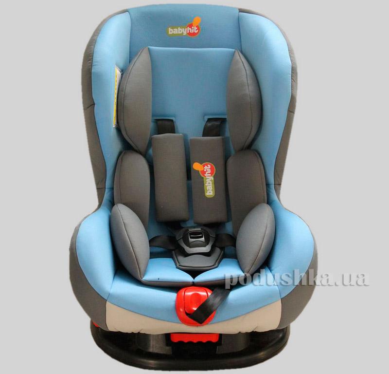 Автокресло Blue grey BabyHit Noble 9892
