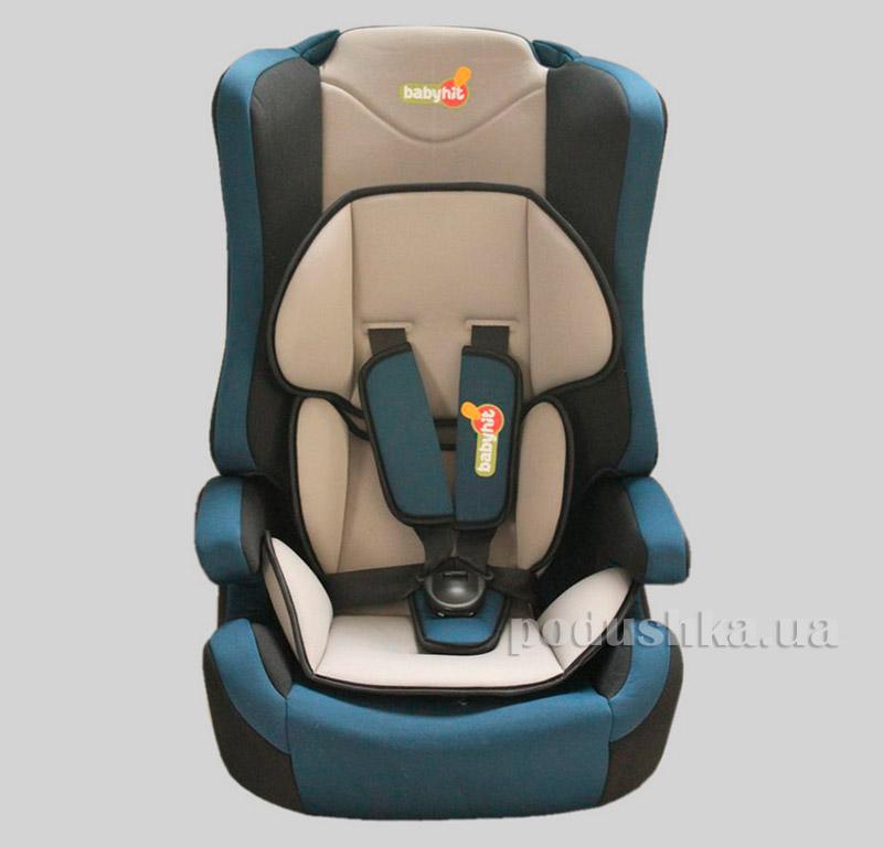 Автокресло Grey blue BabyHit Log's seat 9881