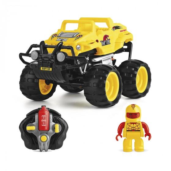 Автомобиль Monster Smash-Ups Crash Car на радиоуправлении Тирекс желтый, аккум. 4.8V TY5873A-1 6900006487437